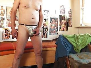 سکس گی sexy string silbergrau man  hd videos