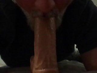 سکس گی Sucking On My Dildo voyeur  sex toy masturbation  blowjob  amateur