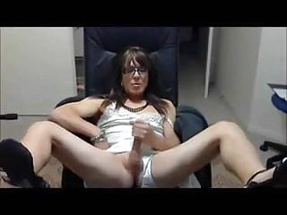 سکس گی Amateur - CD Cum Compilation webcam  sex toy  masturbation  crossdresser  amateur