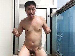 برده سکس گی حیوان خانگی در معرض در کشتی کروز کوچک خروس فیلم های HD در فضای باز BDSM آسیایی