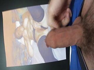 سکس گی Tribute Wichsen voyeur  masturbation  man  handjob  cum tribute  amateur