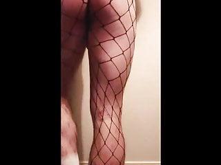 سکس گی Vtecdick big ass camshow with latex fetish outfit and cum webcam  masturbation  man  hd videos handjob  crossdresser  big cock