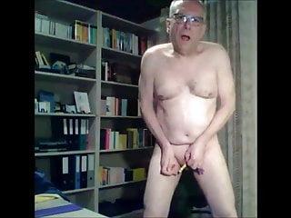 سکس گی grandpa on floor sex toy masturbation  amateur
