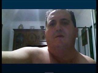 سکس گی spanish fireman wanking on cam webcam  handjob  daddy  bear