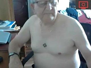 سکس گی grandpa naked show webcam  masturbation  hunk  daddy  amateur