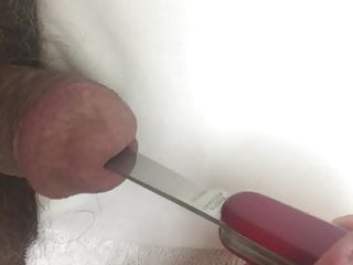 سکس گی Inserting a swiss knife all the way in sex toy man  big cock  bdsm amateur