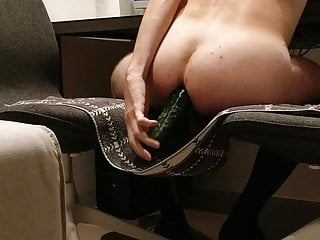 سکس گی chastity cage cb6000s riding a cucumber small cock  hd videos