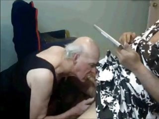 سکس گی grandpas suck cock crossdresser  blowjob  bear