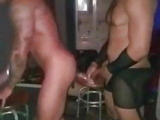سکس گی Backstage fun striptease  muscle  hunk  couple  amateur