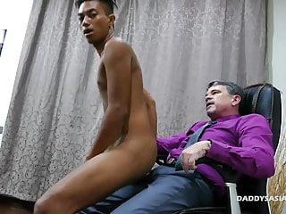 سکس گی بابا و آسیایی پسر جاش بی زین قدیمی + جوان فیلم های HD نژادی آسیایی